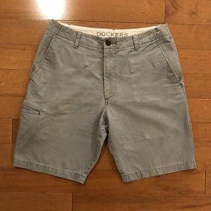 Grey Dockers shorts